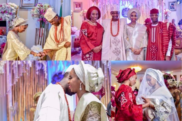 Photo of Photos from VP Osinbajo daughter's engagement at the presidential villa