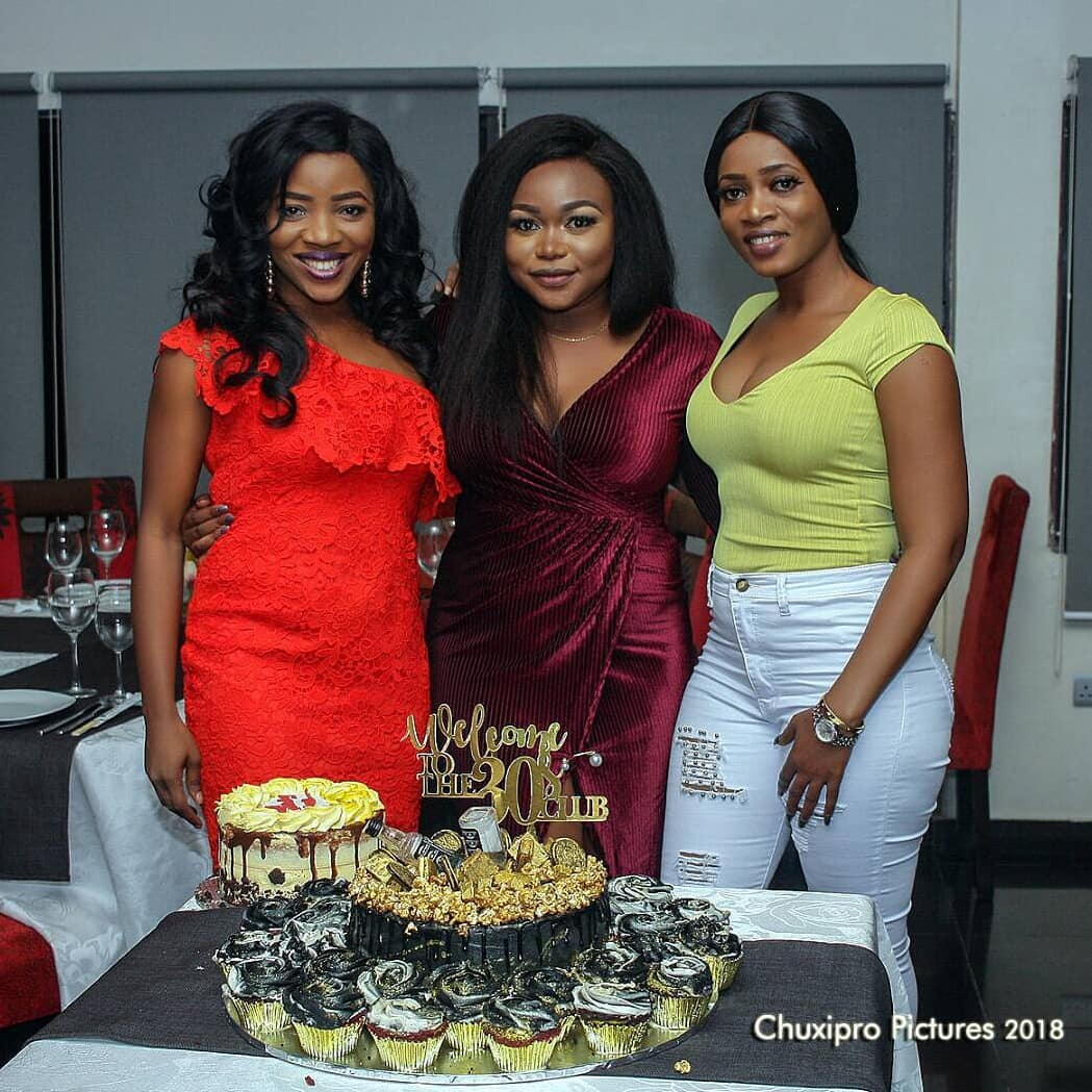 Ruth Kadiri Marks 30th Birthday With Loved Ones At Private