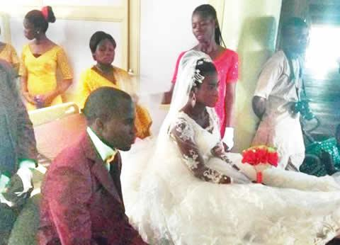 Photo of Timothy, Benue pastor who married fiancee day after crash, tells why he didn't postpone wedding