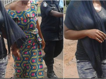Photo of This woman seized a set of twins belonging to another woman