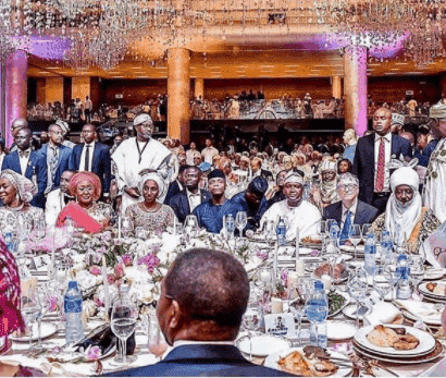 Photo of 'Wealth and power knows no religion' – Niyi Akinmolayan captions this photo of Bill Gates, Osinbajo & Dangote