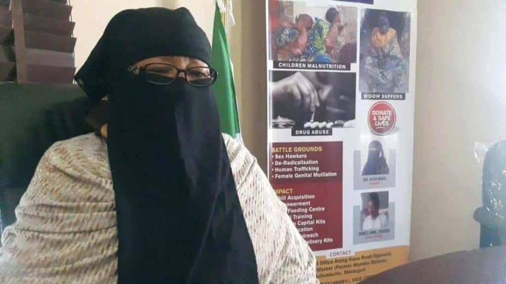 Photo of Women and girls use sand and ashes in place of sanitary pad in Bornu – Mama Boko Haram reveals