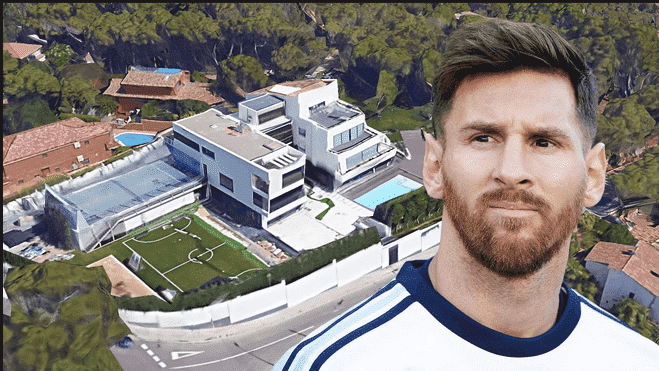 Photo of Planes banned from flying over Lionel Messi's House in Barcelona