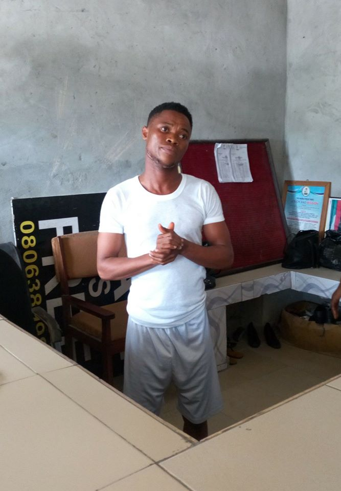 Photo of Youth Corper accused of defiling and impregnating 11 year old girl