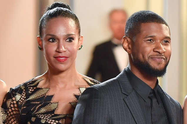 Photo of Usher Raymond and wife, Grace Miguel split after 2 years together