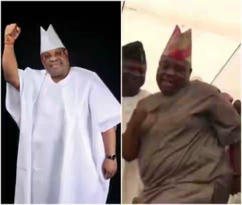 Photo of Senator Adeleke's dancing habit, an embarrassment to Nigeria – Group