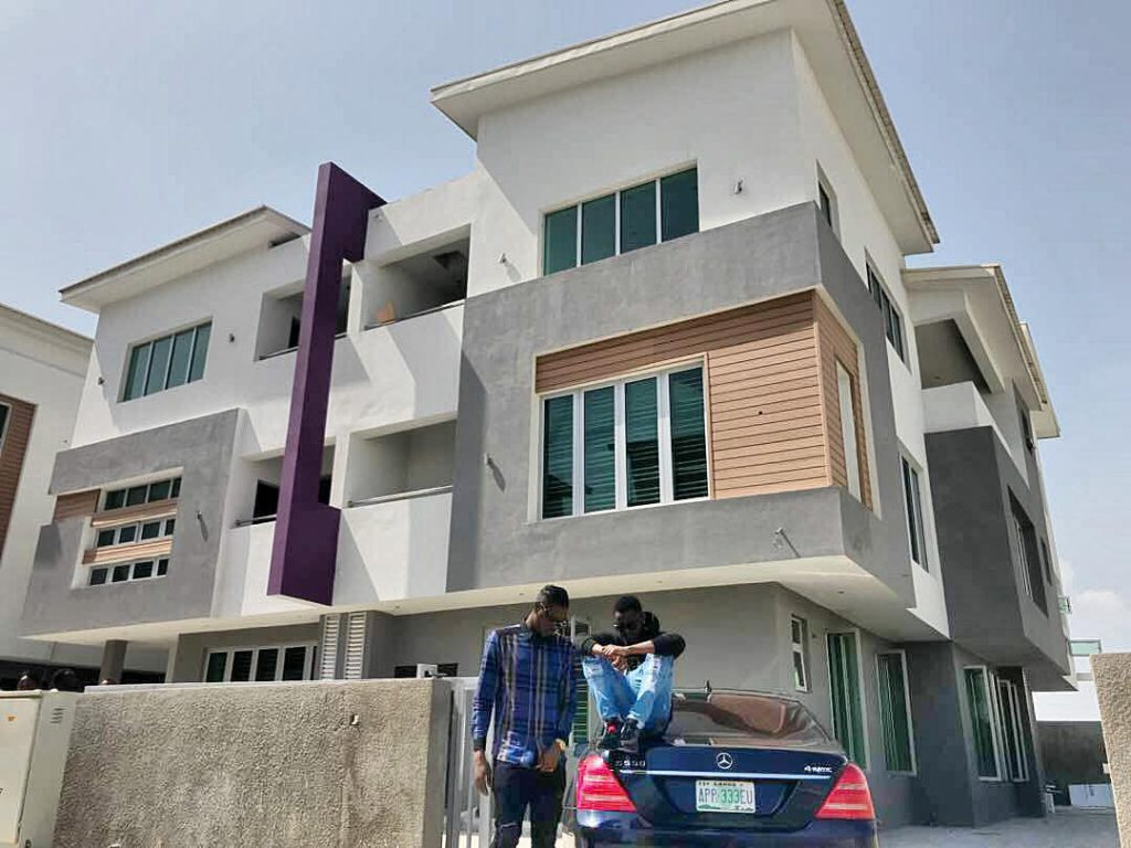 Kiss Daniel buys his second house in Lekki (pictures)