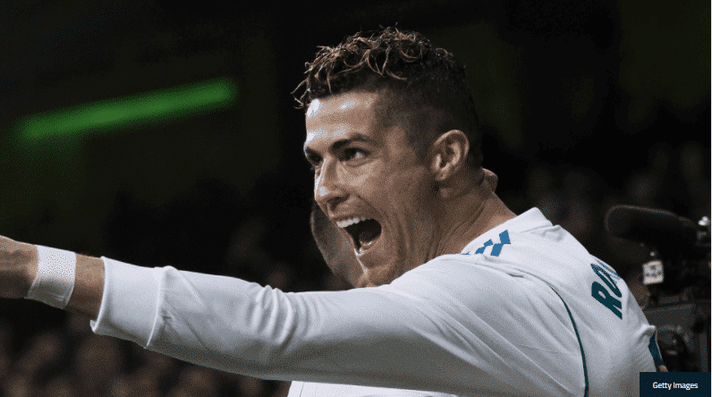 Photo of Cristiano Ronaldo scores 50th hat-trick of his career, Zinedine Zidane says he's from another galaxy