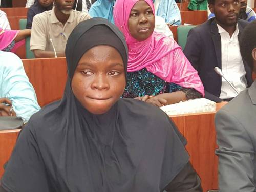 Photo of Amasa Firdu: hijab protesters storm national assembly (photos)