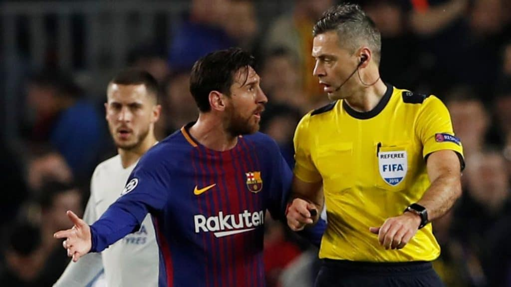 Photo of Messi doesn't get punished by referees – Marco Veratti of PSG
