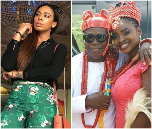 Photo of Tboss reacts to her father's curse on any man that would marry her