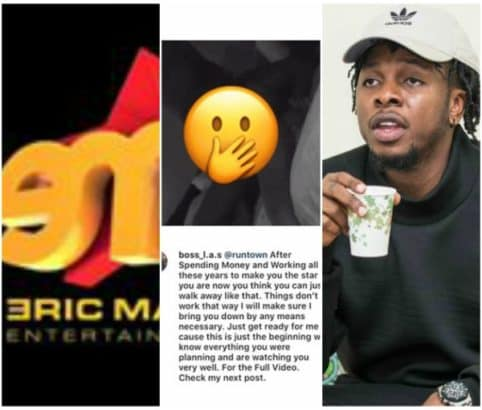 Photo of Eric Many denies having anything to do with Runtown's 'sex tape'