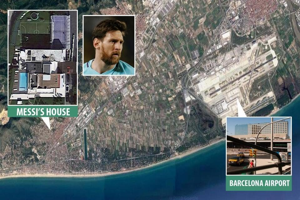 Lionel Messi buys a hotel