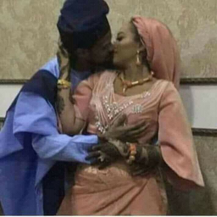Photo of Atiku's media consultant calls out Hisbah police concerning picture showing Fatima Ganduje getting fondled by her husband, Idris Ajimobi
