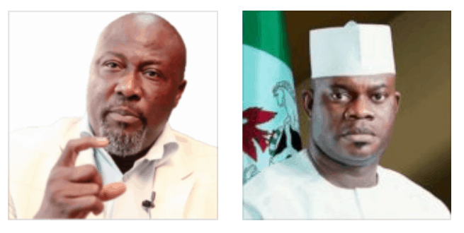 Photo of Dino Melaye accuses Yahaya Bello of importing military items
