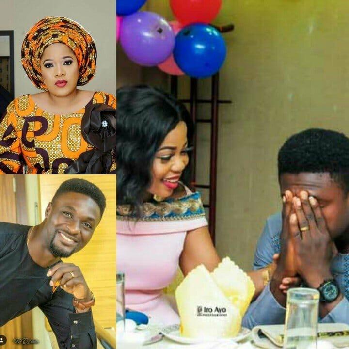 Photo of Adeniyi Johnson reportedly weds actress Seyi Edun in secret (pictures)