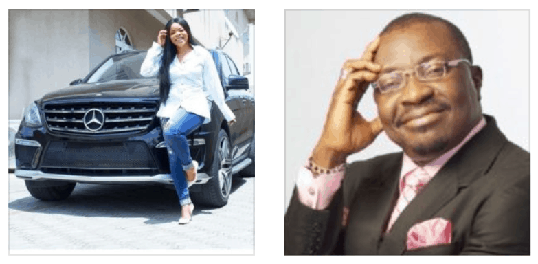 Photo of Comedian Alibaba throws shade at Laura Ikeji after she bought an SUV