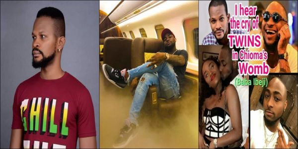 Photo of I hear the cry of Twins in Chioma's womb – Uche Maduagwu tells Davido