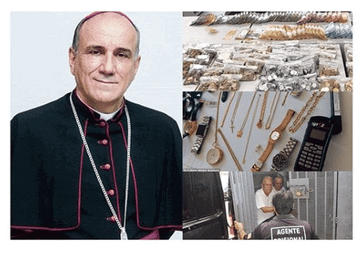 Photo of Brazil police arrest Catholic bishop for diverting tithes, offerings