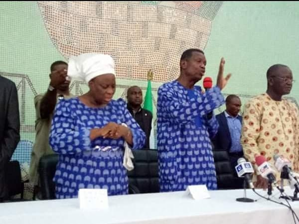 Photo of The moment Pastor E.A Adeboye wept concerning the Benue killings