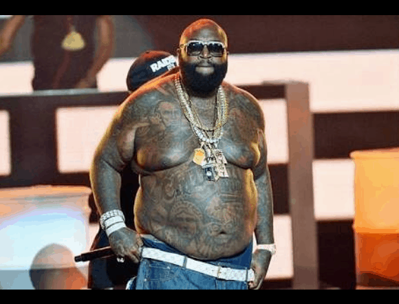 Photo of Rick Ross reportedly hospitalized with possible Pneumonia