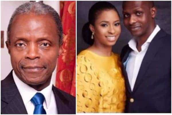 Photo of Vice President, Osinbajo is having a 'Strictly Private Wedding' for his daughter (Details)