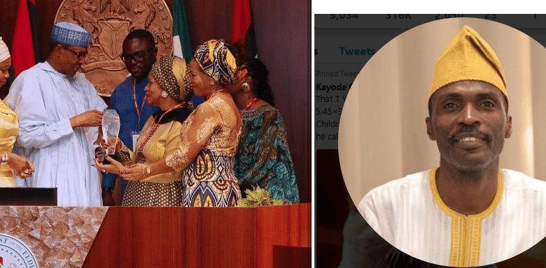 Photo of A whole Aso rock fall mugun – Kayode Ogundamisi mocks Buhari over fake MLK award