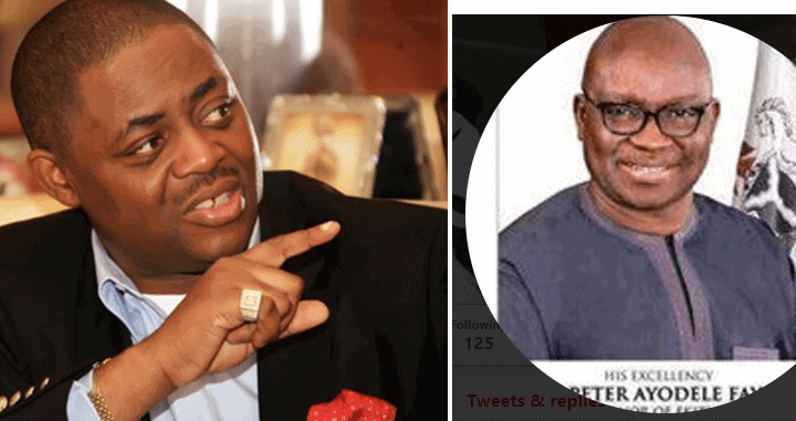 Photo of Fayose and FFK react to fake Martin Luther King Award received by Buhari