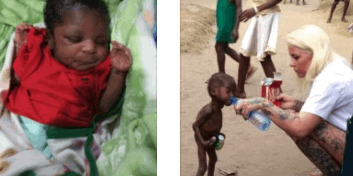 Photo of Danish aid worker, Loven, reveals what an Akwa Ibom hospital told her pregnant staff
