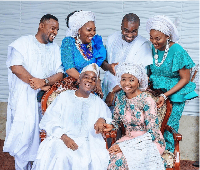 Photo of Bishop David Oyedepo and family break the Internet with new photoshoot