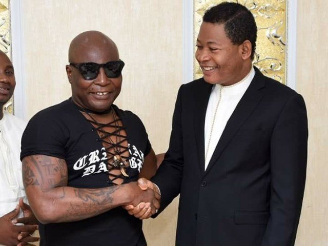 Photo of Charly Boy gives his life to Christ at Christ Embassy church (photos)