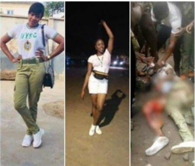 Photo of Lagos corps member with earpiece plugged in,  confirmed dead after Ikeja train accident