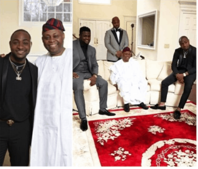 Photo of Davido pens down a birthday message to his Dad as he clocks 61