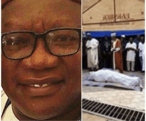 Photo of Lagos ex-council boss slumps, dies during meal at a restaurant