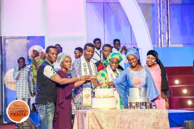 Photo of Checkout Pastor Adeboye's adorable 76th birthday cake