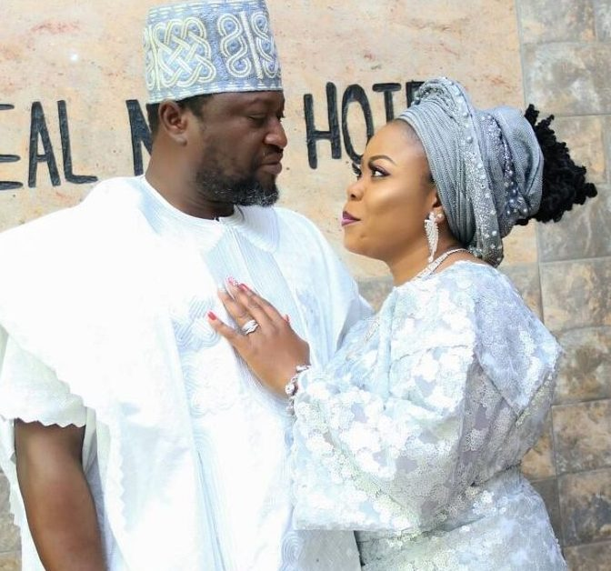 Photo of Femi Branch marries third wife in style (photos, details)