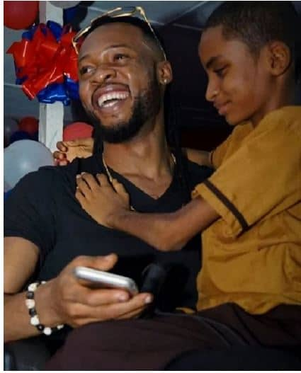 Photo of Flavour speaks on working with young blind singer Semah