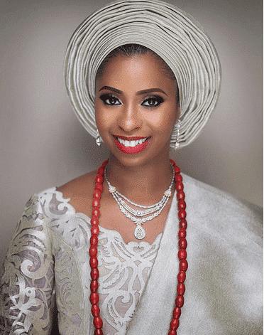 Photo of Osinbajo's, Dangote's and Ganduje's daughters wear Deola Sagoe's over N1.5m 'Komole' for their wedding (photos, details)