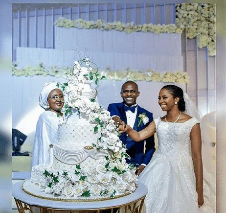 Aisha Buhari Osinbajo/Shagaya's wedding