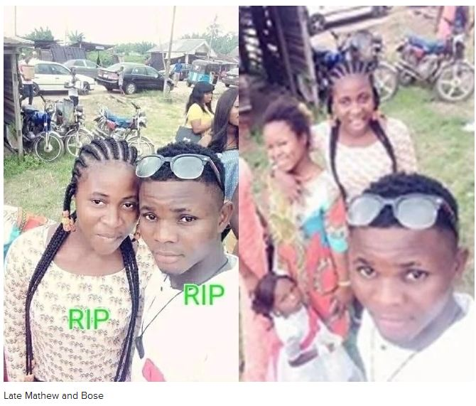 Photo of Tragedy as couple allegedly dies while sleeping in friend's house