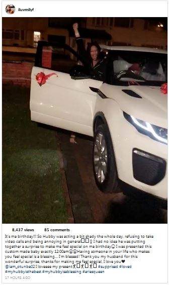 Photo of Nigerian lawmaker buys his wife a Range Rover SUV as birthday gift