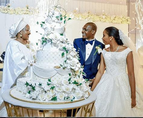 Photo of I baked and decorated my daughter's wedding cake – Dolapo Osinbajo (photos)