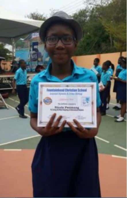 Ghanaian teenage philanthropist