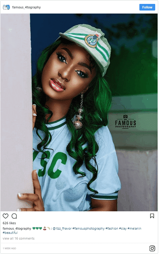 Photo of Pretty corps member shares raunchy photo that has tongues wagging