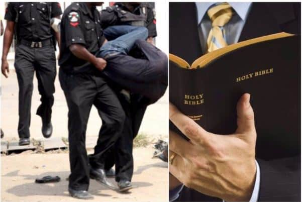 Photo of Pastor arrested for conducting deliverance prayer on the streets