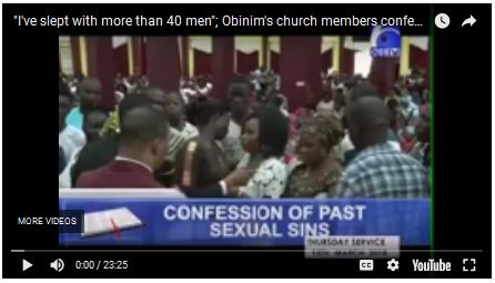 Photo of Church members in Ghana confess sexual sins in public, reveal body counts