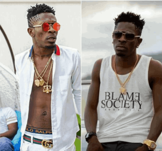 Photo of Shatta Wale proposes to long time girlfriend Shatta Michy during concert
