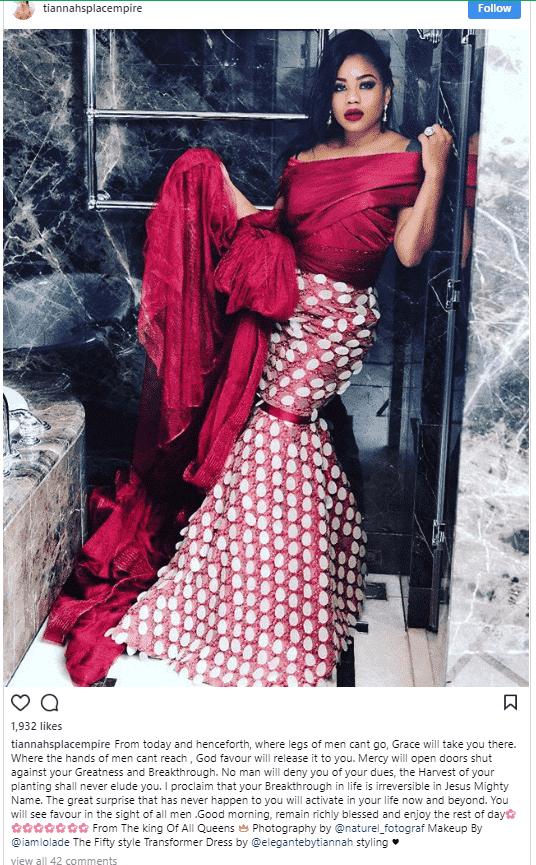 Photo of Six shades of Toyin Lawani's fashion sense