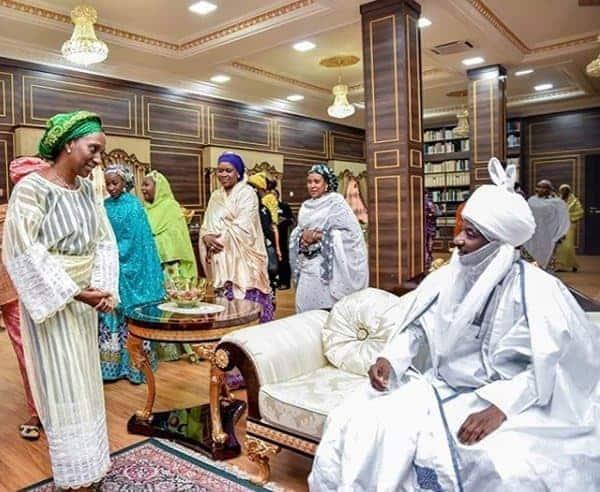 Photo of Ganduje, Ajimobi's children's wedding in pictures