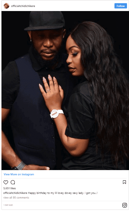 Photo of Nollywood producer TChidi Chikere celebrates wife on her birthday